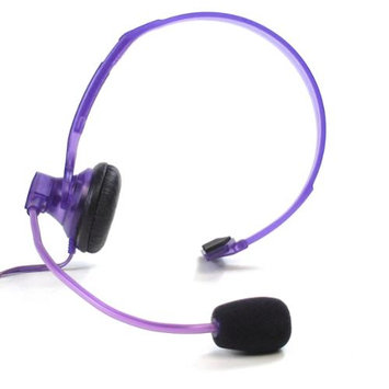 AT & T 90893 Jelly Bean Headset - Grape