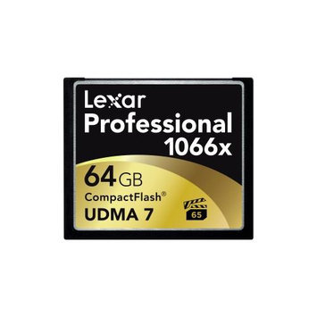 Crucial Technology Lexar Professional 64GB Compactflash [cf] Card - 160 Mbps Read - 155 Mbps Write - 1 Card (lcf64gcrbna1066 3)