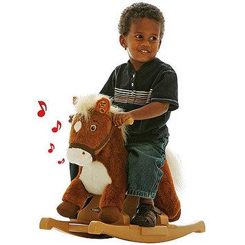 Tek Nek Rockin' Rider Pony Rocker Animated Plush - Brown Rocking Horse