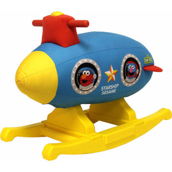 Tek Nek Sesame Street Rocking Space Ship