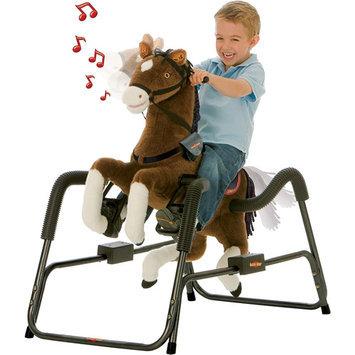 Tek Nek Toys Rockin Rider Legend Deluxe Animated Spring Horse