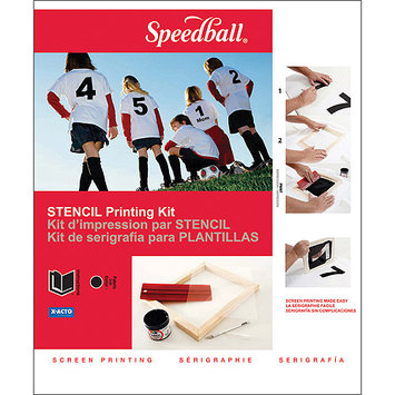 Speedball H45030 Basic Stencil Screen Printing Kit