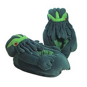 Toy Vault Twilight Terror Cthulhu Slippers 12033