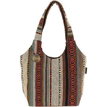 Laurel Burch Catori Scoop Tote - Sandsation