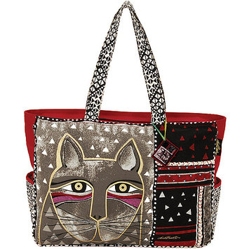 Laurel Burch NOTM277591 - Oversized Tote Zipper Top 22-1/2