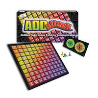WIEBE CARLSON ASSOCIATES Addattack Math Game CRE4791