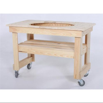 Primo Grills Cypress Table for Extra Large Oval Grill