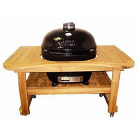 Primo Grills Hardwood Table for Extra Large Oval Grill