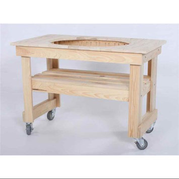 Primo Grills Cypress Table for Oval Junior Grill