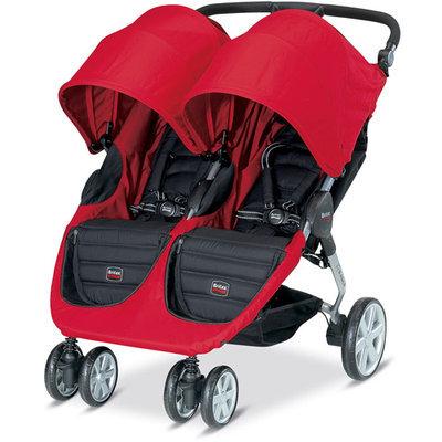 Britax B-Agile Double Stroller in Red