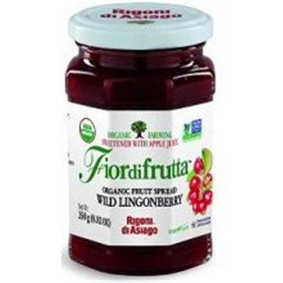 Rigoni di Asiago Fiordifrutta Organic Fruit Spread Wild Lingonberry - 8.82 oz