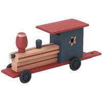 Wmu Darice 9169-06 2/7L x 3-8/9W Wood Train Model Kit