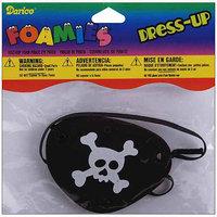 Wmu Darice 1052-80P Foam Pirate Eye Patch - 1/Package