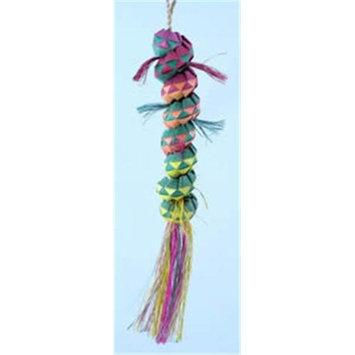 Planet Pleasures Caterpillar 12in Medium Bird Toy