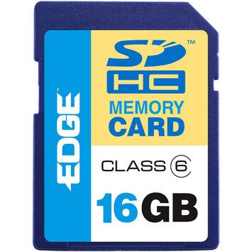Edge Memory Edge 16GB SDHC Flash Memory Card, Class 6 PE216306