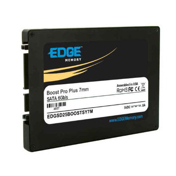 Edge Tech Corp. EDGE Boost Pro Plus 480GB 2 5 Quot Internal Solid State Drive SATA 540 MBps Maximum Read Transfer Rate 460 MBps Maximum Write Transfer Rate 78000IOPS Random 4KB Read 42000IOPS Random 4KB Write H3C0DUZBK-2515