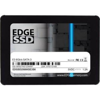 Edge Tech Edge E3 250GB 2.5 Internal Solid State Drive - Sata - 560 Mbps Maximum Read Transfer Rate - 315 Mbps Maximum Write Transfer Rate (pe246501)