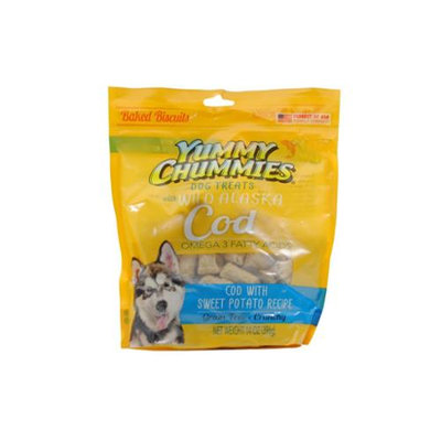 Artic Paws - Yummy Chummies YC01302 14 Oz. Cod With Sweet Potato Grain Free Dog Biscuit