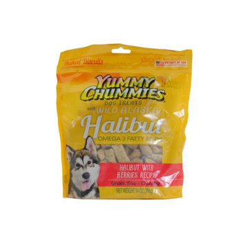Artic Paws - Yummy Chummies YC01304 14 Oz. Halibut With Sweet Potato Grain Free Dog Biscuit