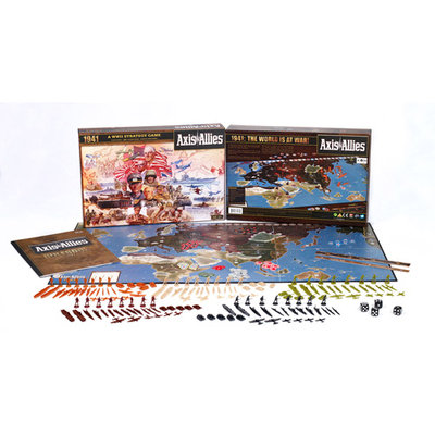 Wizards Of The Coast Axis & Allies 1941 Board Game