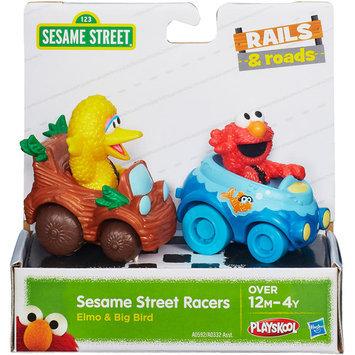 Sesame Street 2-Pack Vehicles - Elmo and Big Bird