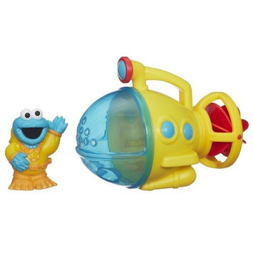 Hasbro Playskool Sesame Street Cookie Monster Bath Submarine Toy