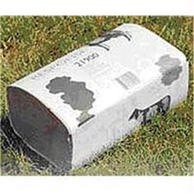 N P S Corp National Packaging Srv-Brown Standard Weight Towel- Brown