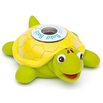Ozeri TM01 Baby Bath Floating Turtle Toy and Tub Thermometer