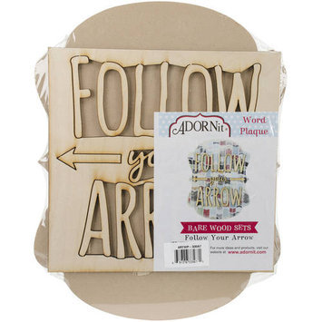 Adorn-it Art Play MDF Chat Bubble Plaque 10