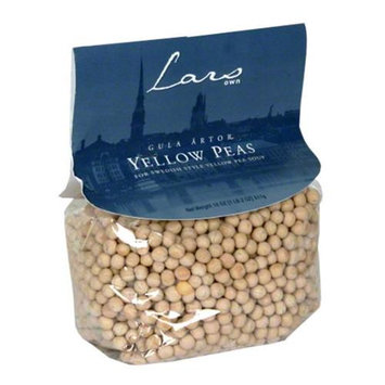 Lars Own Yellow Peas, 18 oz, - Pack of 6
