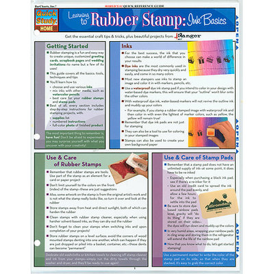 Barcharts Inc BarCharts- Inc. 9781423202653 Learning To Rubber Stamp- Pack of 3