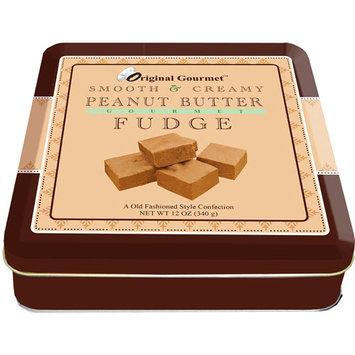 Original Gourmet Peanut Butter Fudge, 12 oz