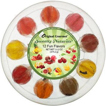 Original Gourmet Sweetly Naturals Lollipops, 9 count, 9.9 oz