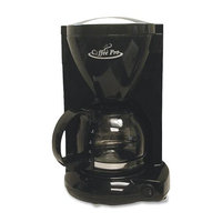 Coffeepro Cp6b Coffee Pro Euro Style Commercial Coffeemaker - 4 Cup - Black