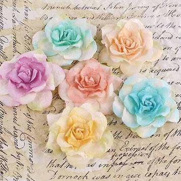 Prima Marketing, Inc. Prima Marketing Pankita Rose Handmade Paper Flowers, 1-1/2