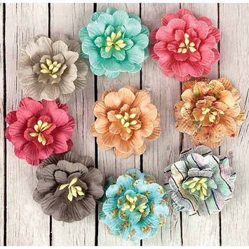Prima Marketing Fairy Rhymes Paper Flowers 1.5 9/Pkg-Daisies