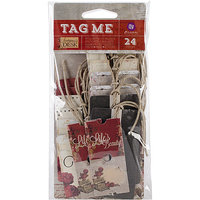 Prima Marketing Stationer's Desk Tag Me Tags & Tickets-6 Each