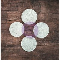 Prima Marketing Resin Icon Embellishments-Chalk Black Key & Lock Sets 12/Pkg