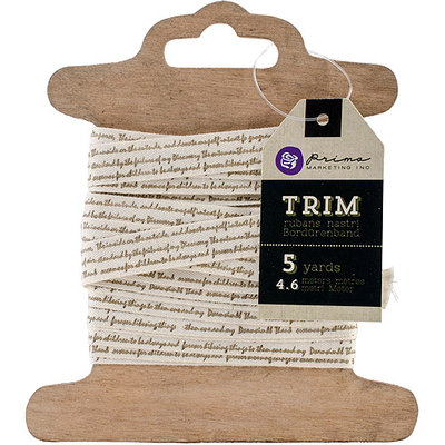 Prima Marketing Trim 2 Yards/Pkg-Script