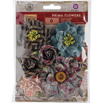 Prima Marketing STAFLR-75397 Stationers Desk Flowers-Paper Compose .75 in. To 1 in. 100-Pkg
