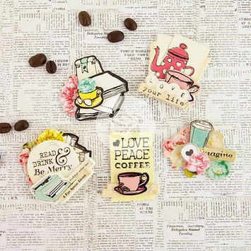 Prima Marketing Coffee Break 3D Stickers