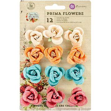 Prima Marketing Cigar Box Secrets Flowers, 1-Inch, Paper Volado, 12-Pack [Misc.]