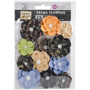 Prima Marketing Forever Green Flowers-Paper Hybrid 1.5