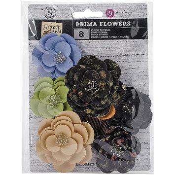 Prima Marketing Forever Green Flowers-Paper Garden 1.75