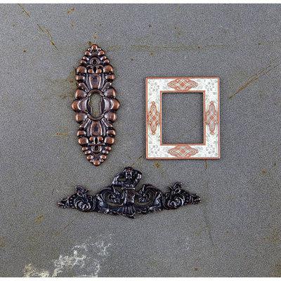 Prima Marketing Timeless Memories Metal Trinkets-Reflection