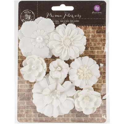 Prima Marketing Chaste Mulberry Paper FlowersThandi