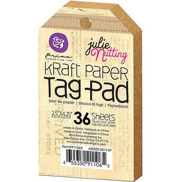 Prima Marketing Julie Nutting Mixed Media Tag Pad 2.5