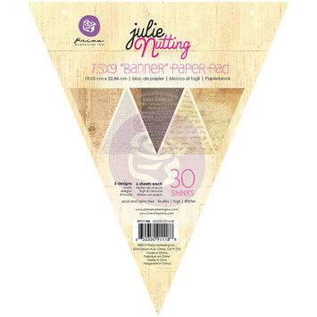 Prima Marketing Julie Nutting Mixed Media Banner Pad