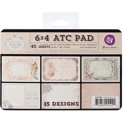 Prima Marketing Princess ATC Cards 4