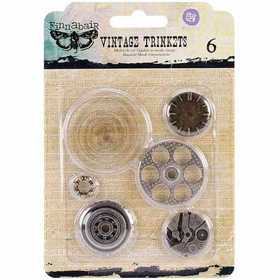 Prima Marketing Sunrise Sunset Mechanicals Metal Vintage Trinkets, Washers, #2, 1